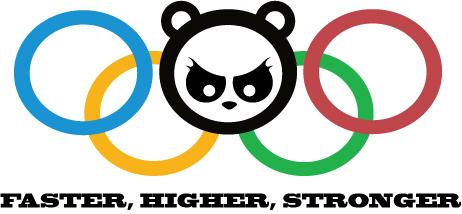 Angry Panda 2012 Olympics